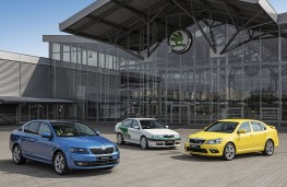 Skoda Octavia, 20 year line up