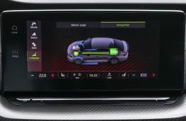Skoda Octavia estate vRS iV, 2020, display screen