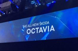 Skoda Octavia reveal, banner