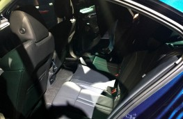 Skoda Octavia reveal, 2019, rear seats