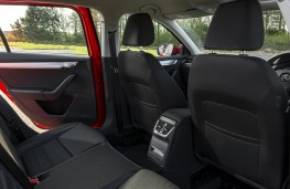 Skoda Octavia Estate, 2017, rear seats