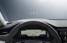 Skoda Octavia, 2020, virtual cockpit and HUD