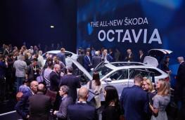 Skoda Octavia reveal, 2019