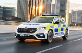 Skoda Octavia vRS iV, 2020, police livery