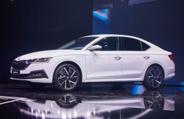 Skoda Octavia, reveal, 2019, side
