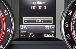 Skoda Octavia vRS 245, 2017, lap timer
