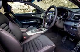 Kia Optima Sportswagon GT Line S, interior