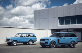 Range Rover Fifty with 1970 model
