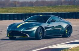 Opposite lock - Aston Martin Vantage AMR