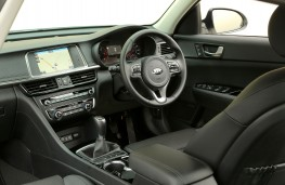 Kia Optima, interior