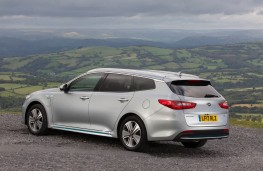 Kia Optima Sportswagon, rear