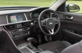 Kia Optima Sportswagon, interior