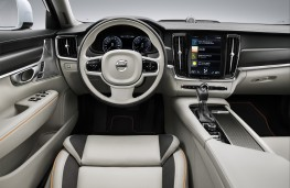 Volvo V90 AWD Ocean Race Cross Country, 2018, dashboard