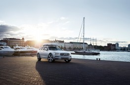 Volvo V90 AWD Ocean Race Cross Country, 2018, front