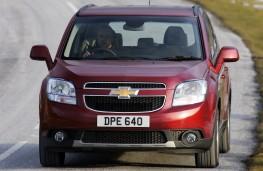 Chevrolet Orlando, action