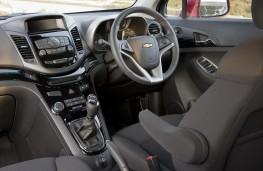 Chevrolet Orlando, interior
