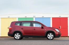 Chevrolet Orlando, side