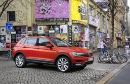 Volkswagen Tiguan, 2016, side, parked, Berlin