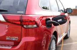 Mitsubishi Outlander PHEV, 2018, charging