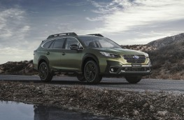 Subaru Outback, 2021, front