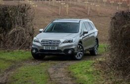 Subaru Outback, front, static