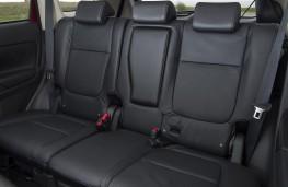 Mitsubishi Outlander, rear seats
