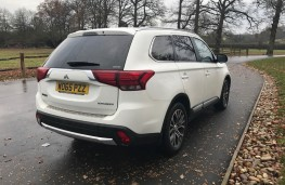 Mitsubishi Outlander, rear