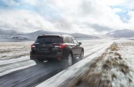 Subaru Outback, 2018, rear