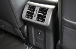 Mitsubishi Outlander, 2018, rear seat vents