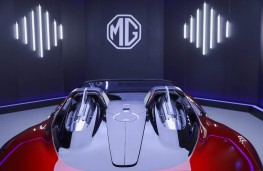 MG Cyberster, 2021, overhead
