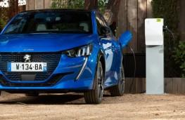 Peugeot e-208, 2019, charging