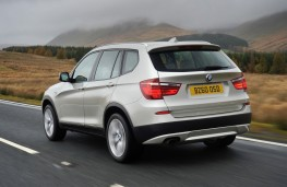 BMW X3, rear
