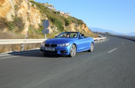 BMW 4-Series convertible, action