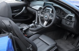 BMW 4-Series convertible, interior