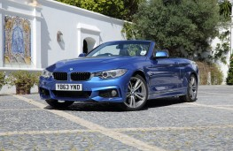 BMW 4-Series convertible, front