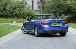 BMW 4-Series convertible, rear