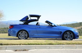 BMW 4-Series convertible, roof