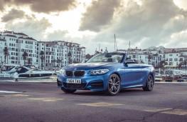 BMW 2 Series Convertible, front quarter