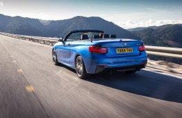 BMW 2 Series Convertible, rear