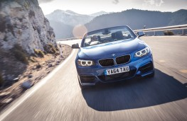 BMW 2 Series Convertible, front dynamic