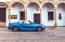 BMW 2 Series Convertible, profile