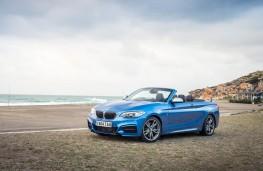 BMW 2 Series Convertible, beach