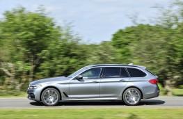 BMW 5-Series Touring, profile