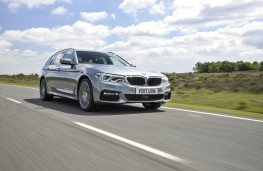 BMW 5-Series Touring, dynamic