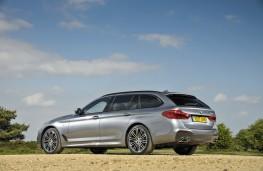 BMW 5-Series Touring, rear