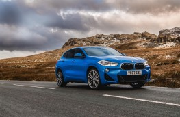 BMW X2, front