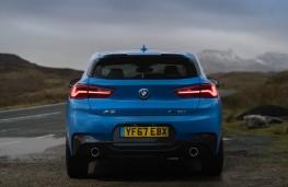 BMW X2, rear
