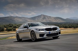 BMW M5 Competition, front