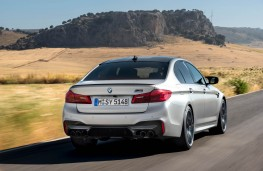 BMW M5 Competition, rear