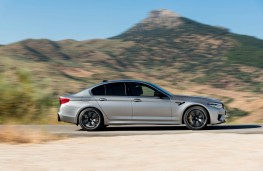 BMW M5 Competition, side